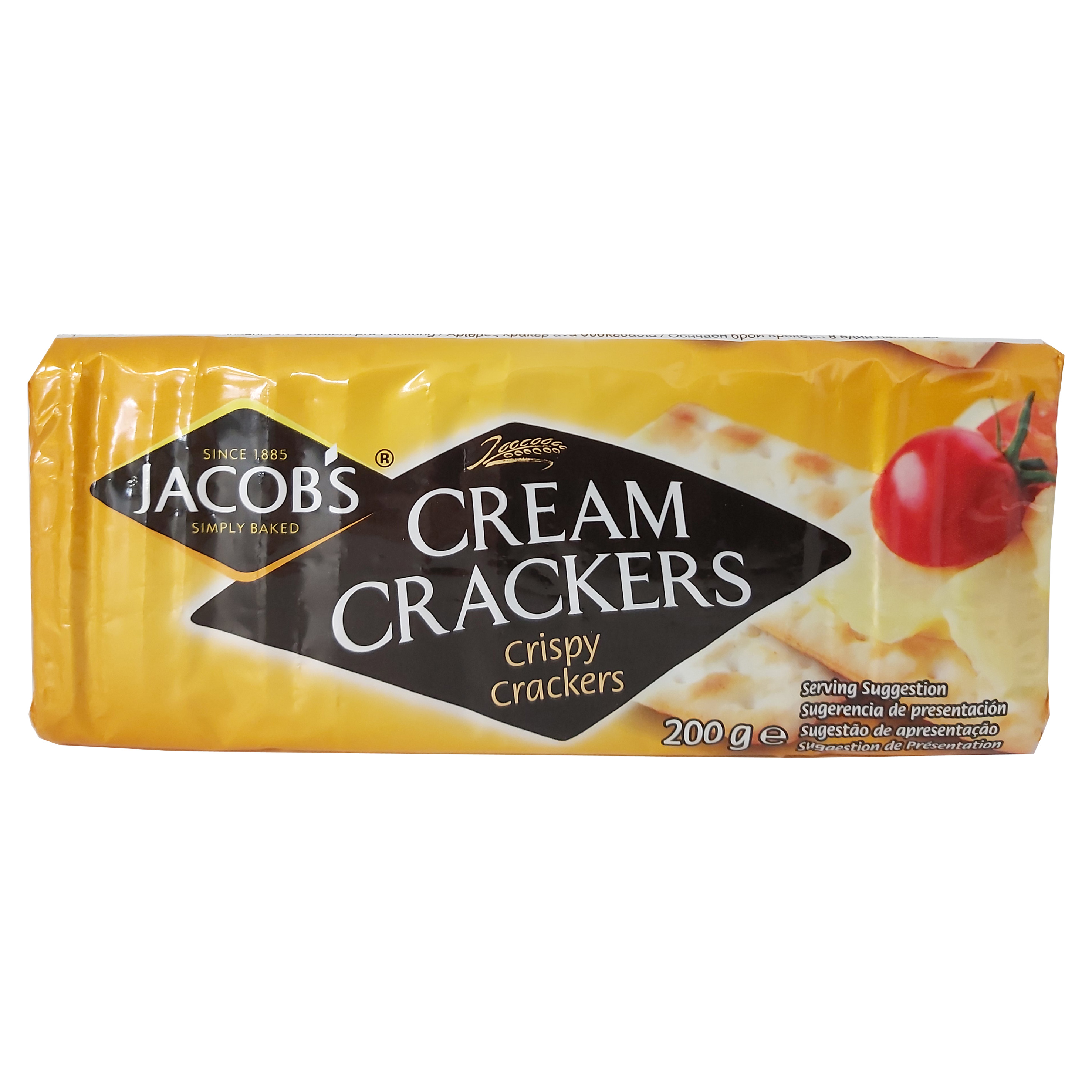 Jacobs cream crackers 200 gr.