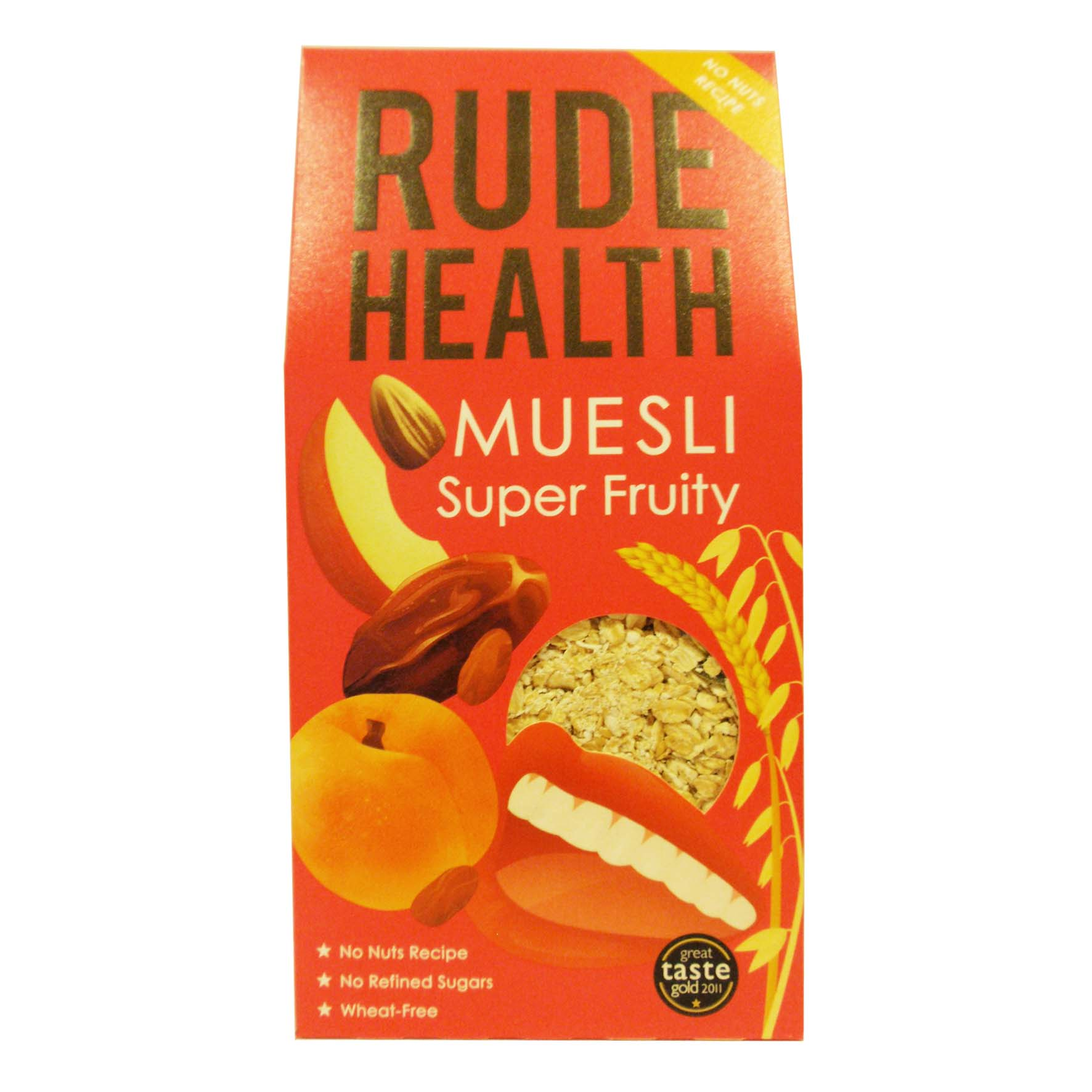 Rude health muesli super fruity 500g