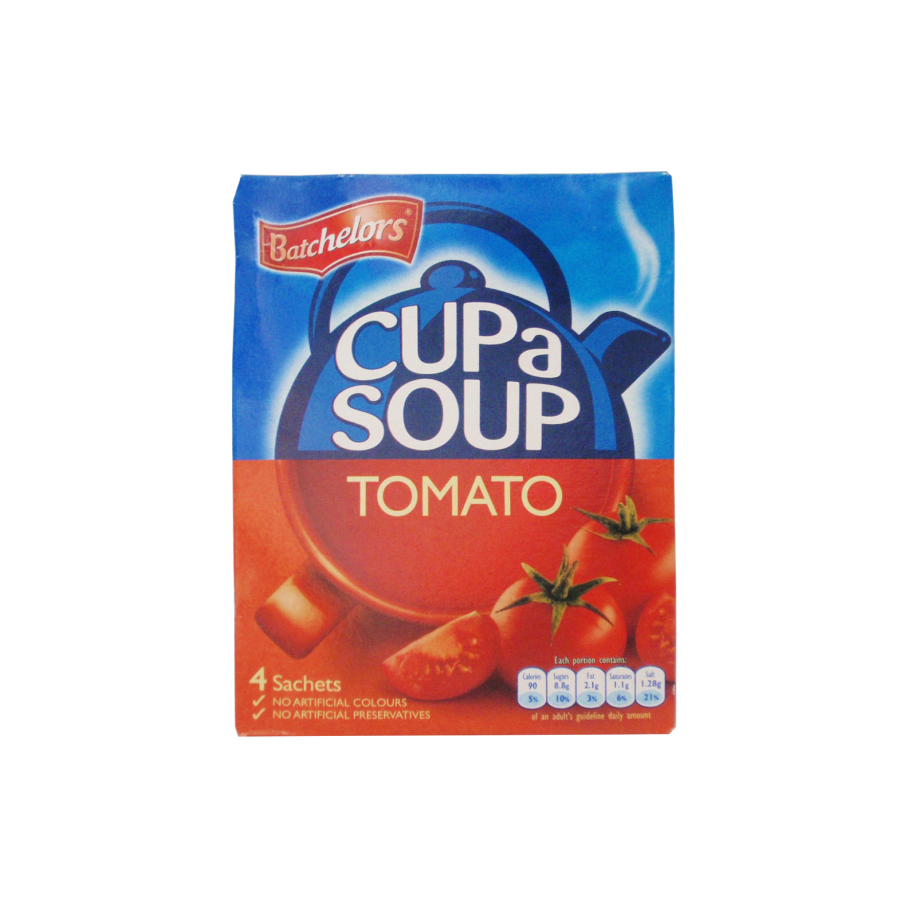 Batchelors sopa tomate 4-s