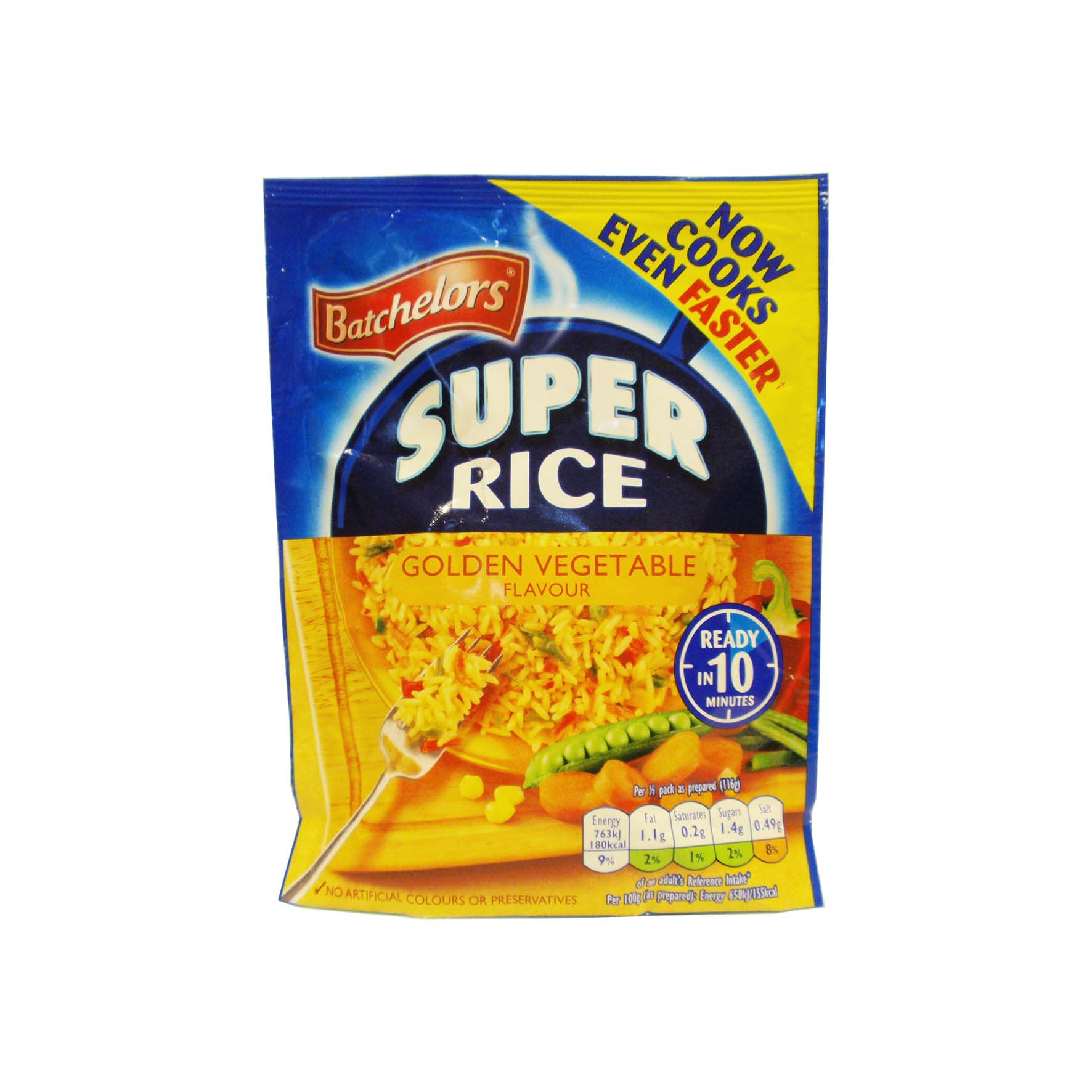 Batch super rice s. golden veg. 100