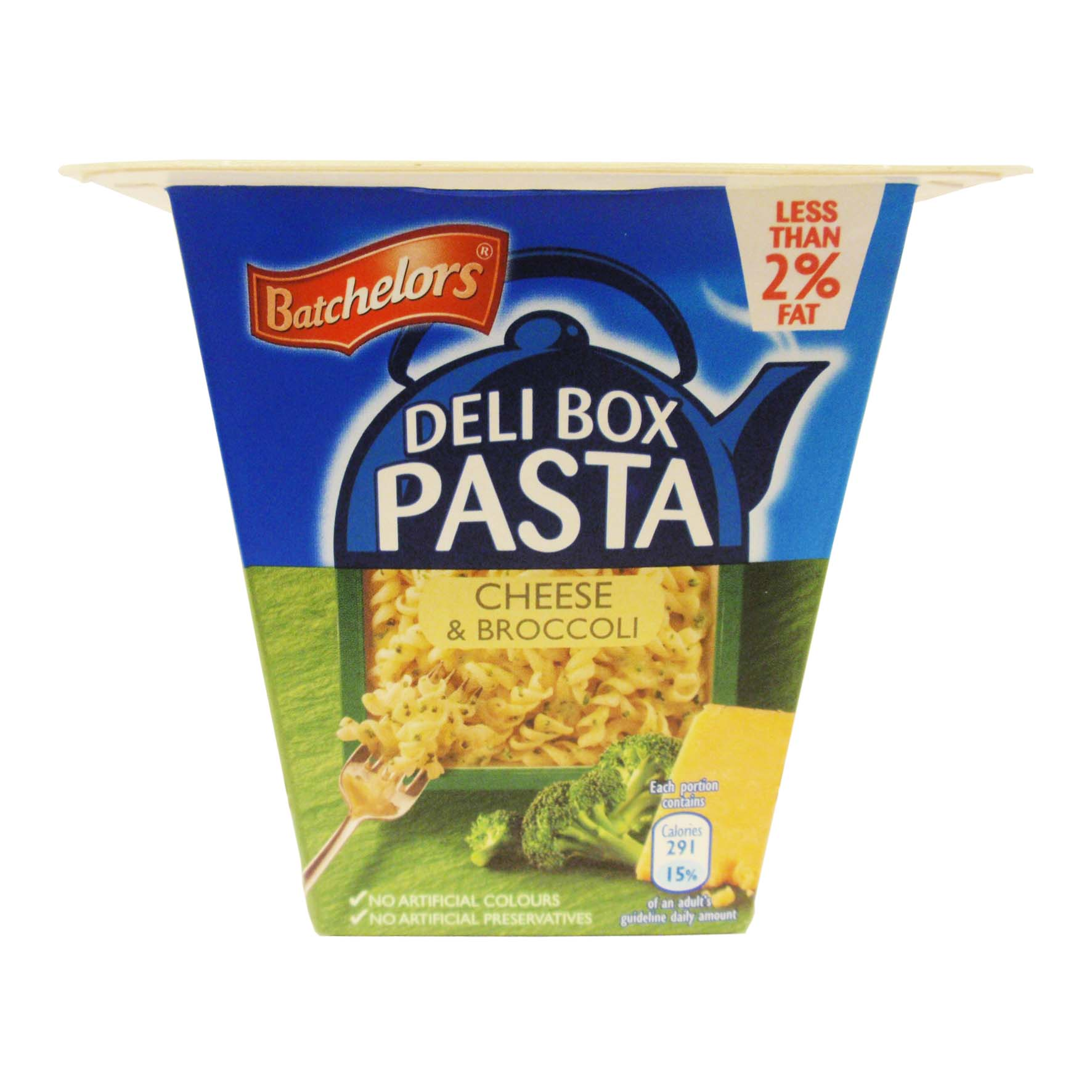 Batch deli box pasta queso-brocoli 75g