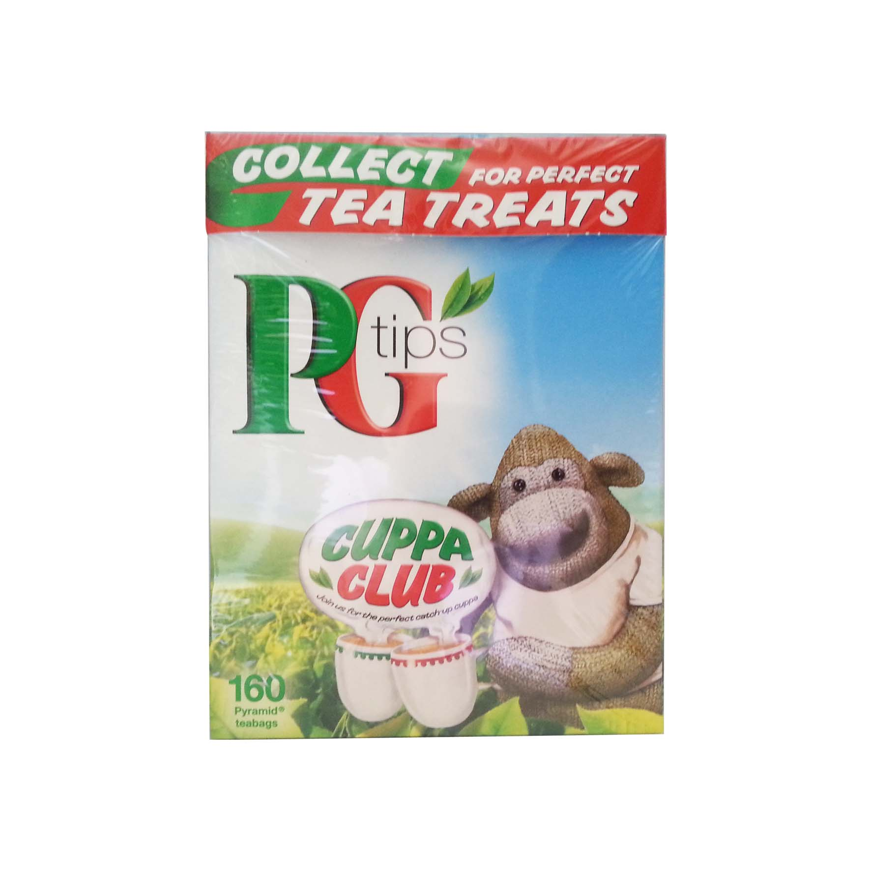 Pg tips te piramidales 160 bolsas