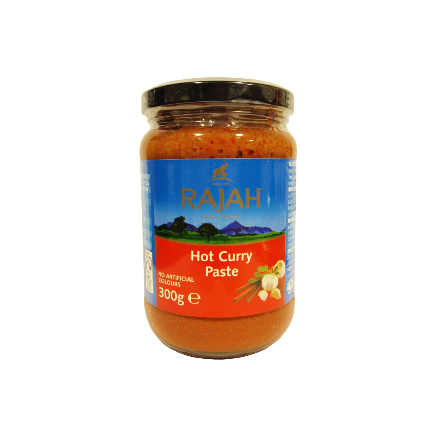 Rajah pasta picante/hot curry