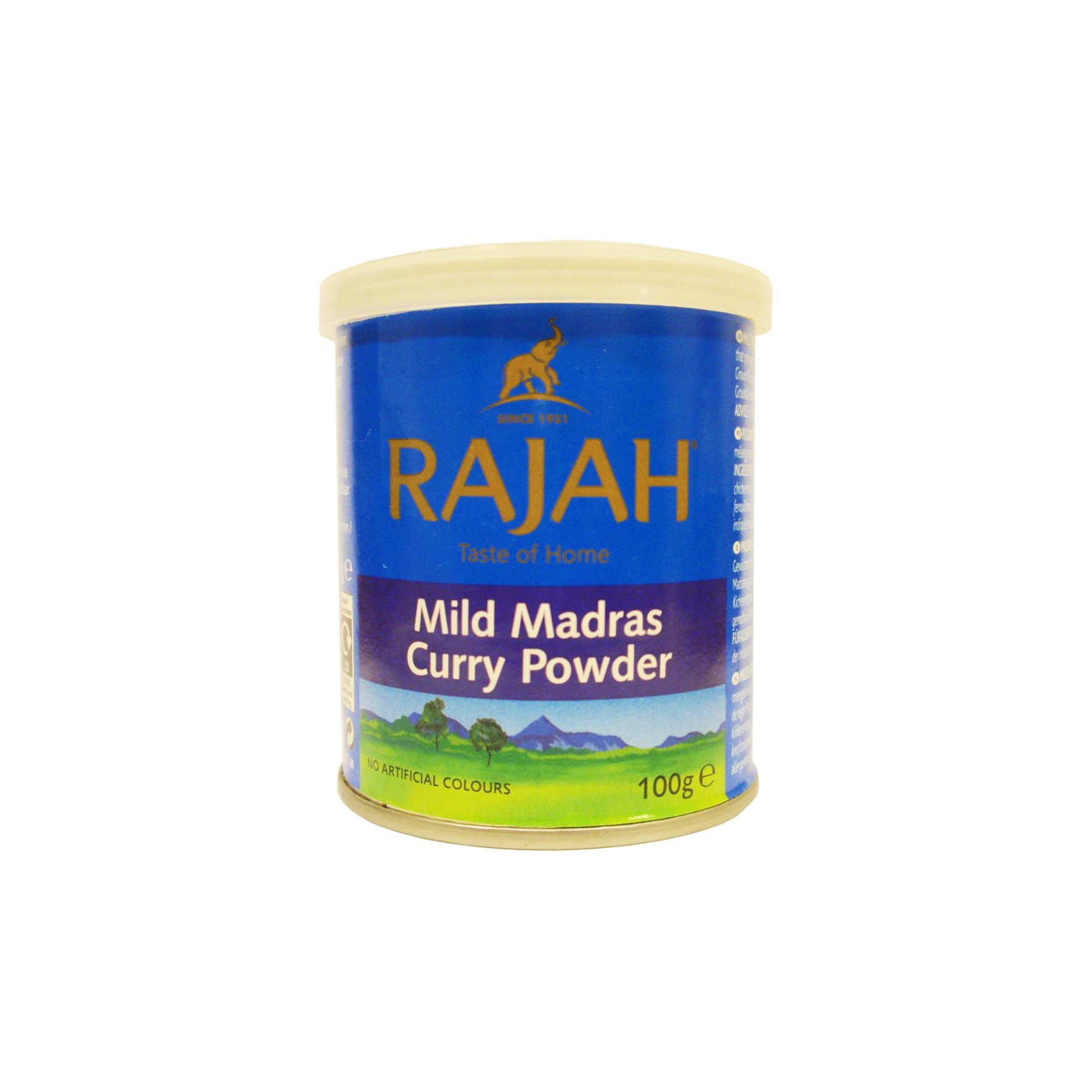 Rajah curry polvo suave madras