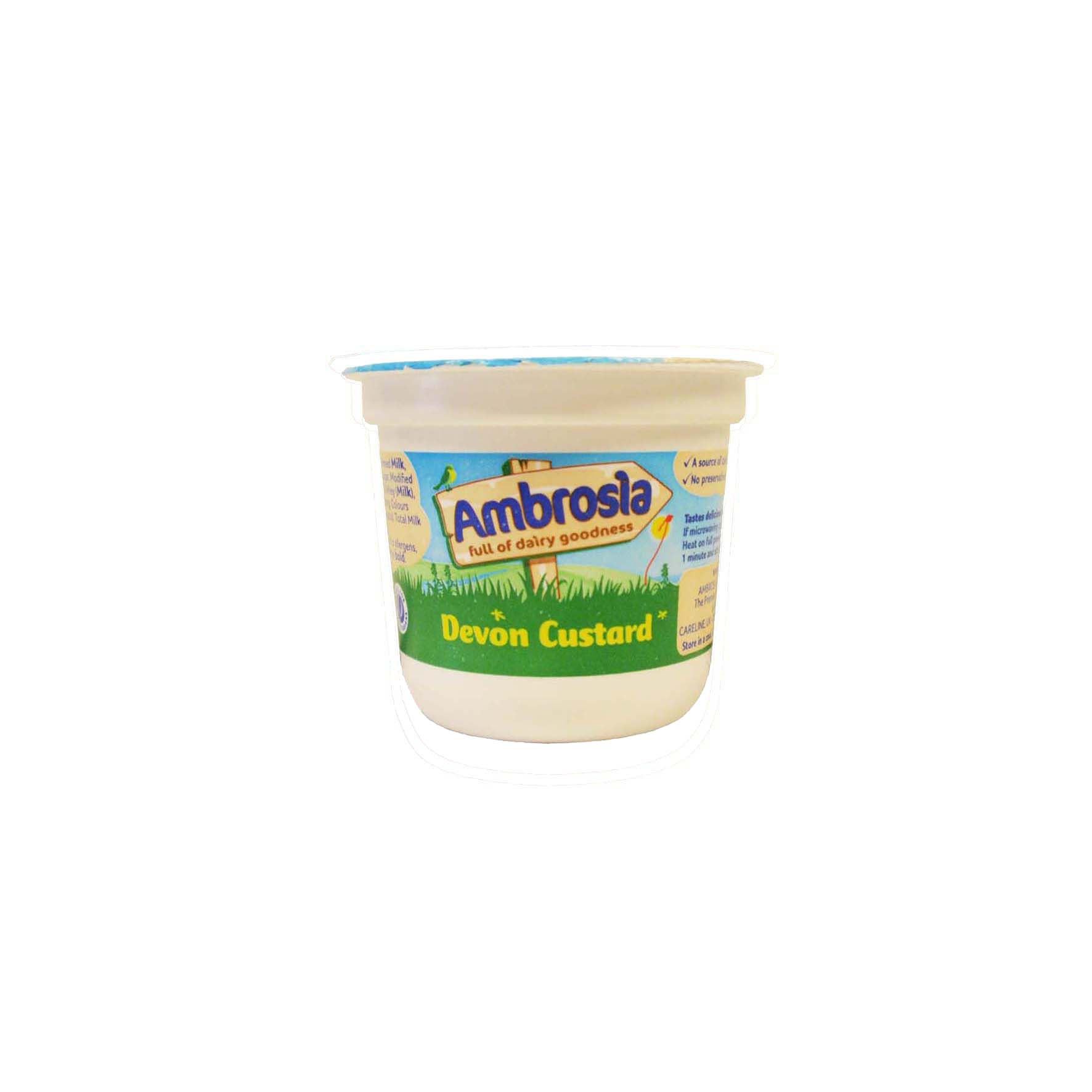 Ambrosia natillas devon pot 12/120gr